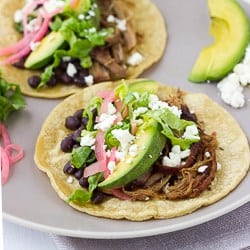 Slow-Cooker Sweet Pork Tacos