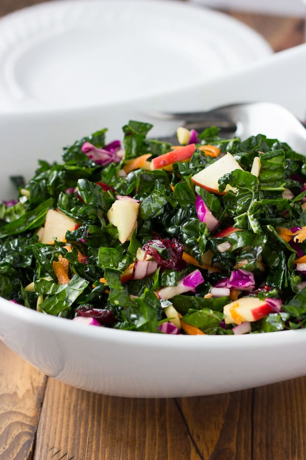 No-Fail Cranberry Kale Salad!
