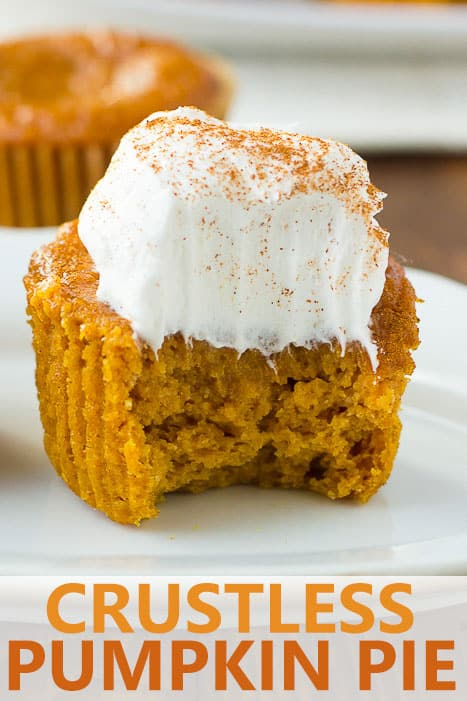 Image for pinterest of a bite taken from a muffin
