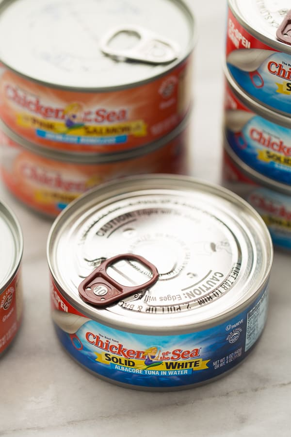 cans of chicken of the sea tuna