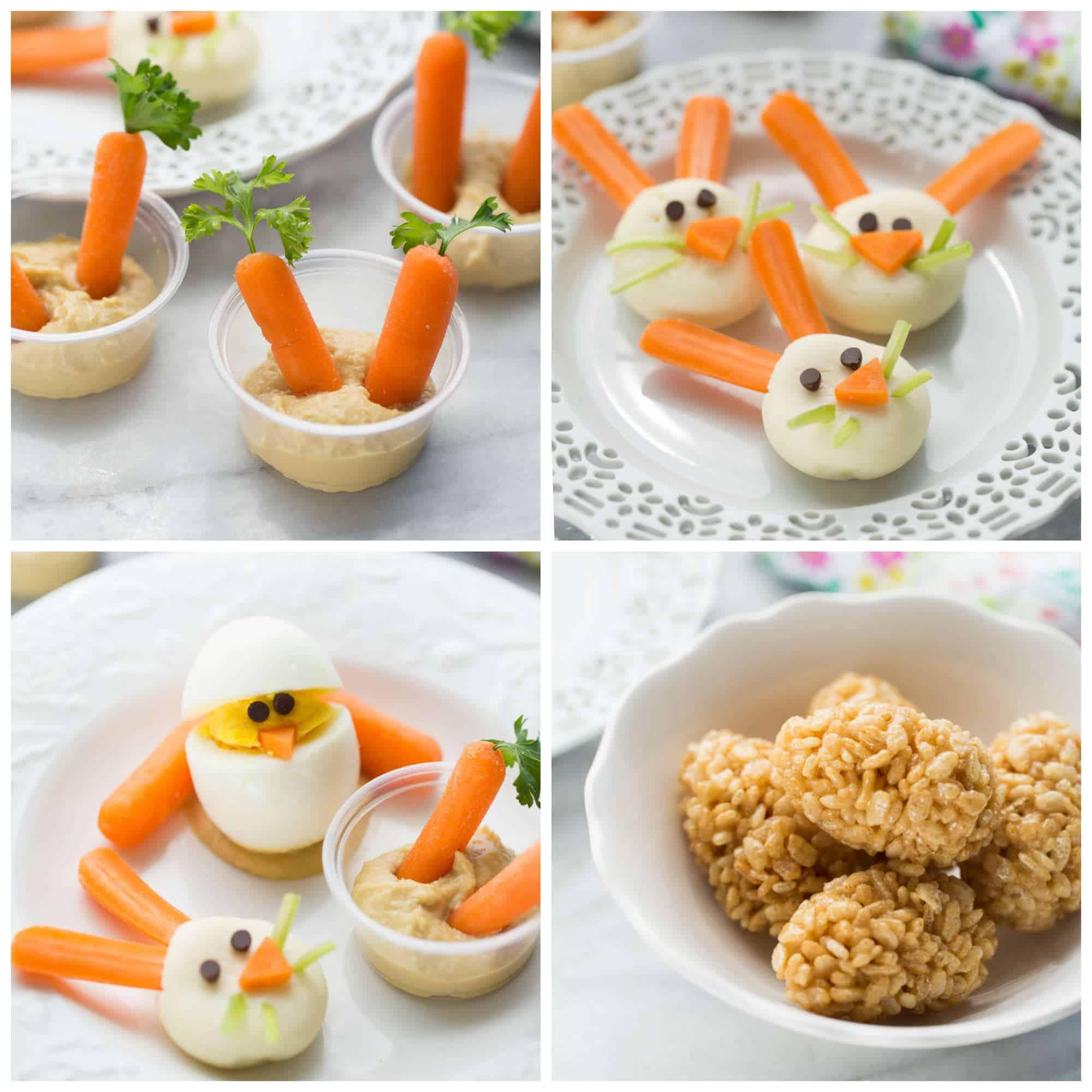 4 Healthy Kids Easter Snacks - Meaningful Eats