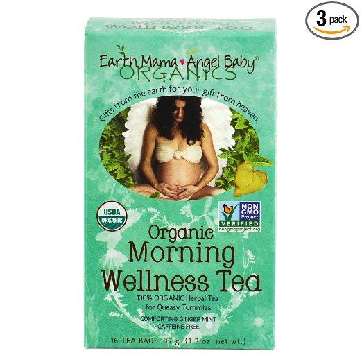 box of morning wellness tea