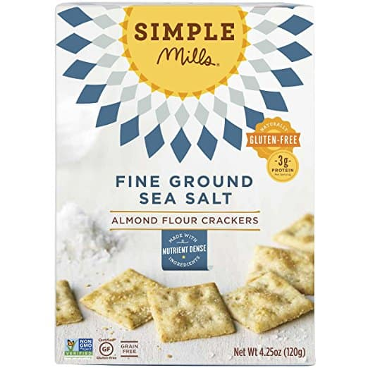 box of simple mills crackers