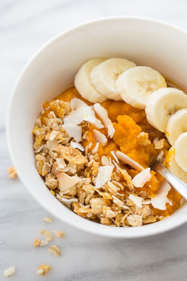 Instant Pot Sweet Potato Breakfast Bowls! An easy, healthy and filling breakfast!