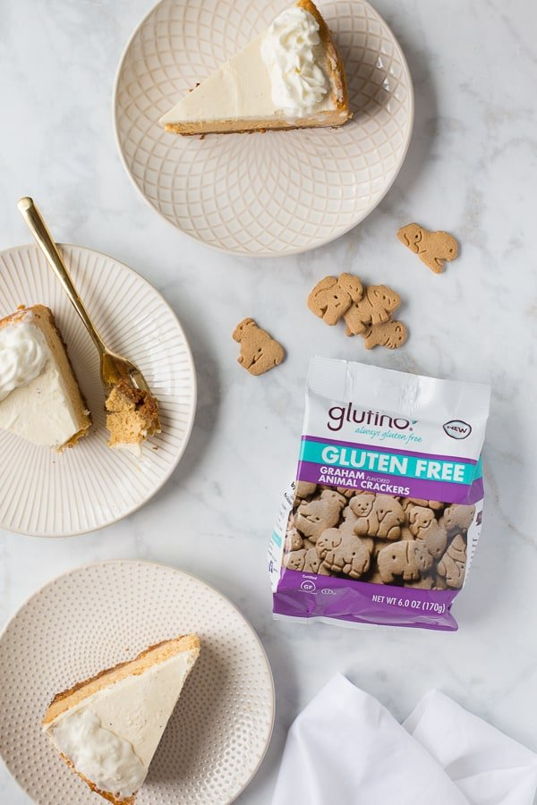 Gluten-Free Pumpkin Cheesecake! #glutenfree #pumpkincheesecake #glutenfreecheesecake #glutenfreethanksgiving #glutenfreethanksgivingdesserts