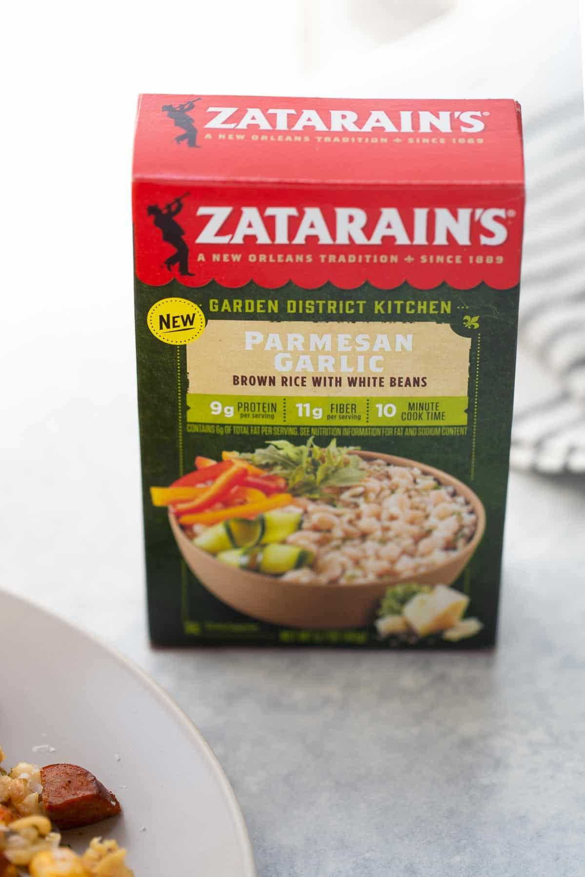Zatarain's Parmesan Garlic Rice