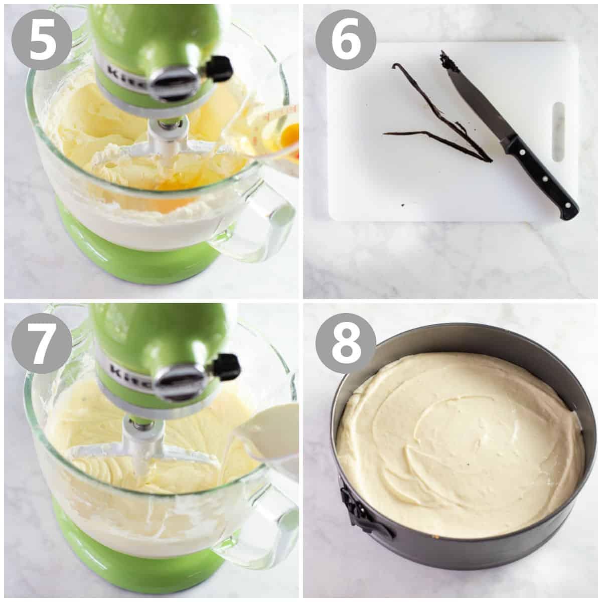 comment préparer la garniture du gâteau au fromage sans gluten