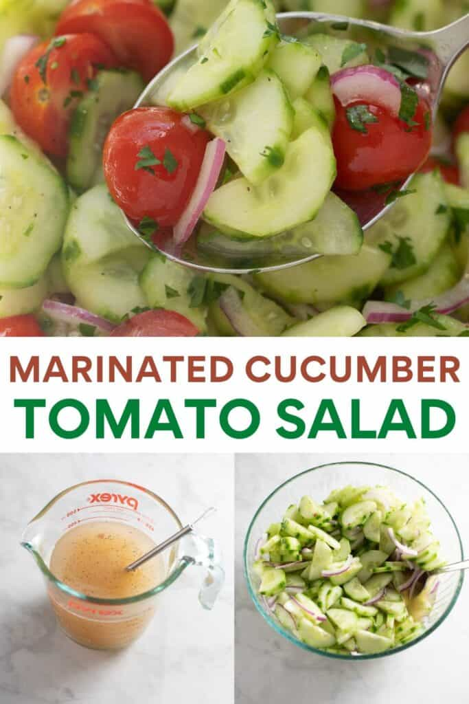 image for pinterest for cucumber salad