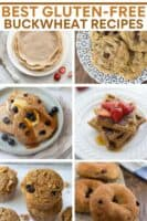 image for pinterest of buckwheat recipes collage