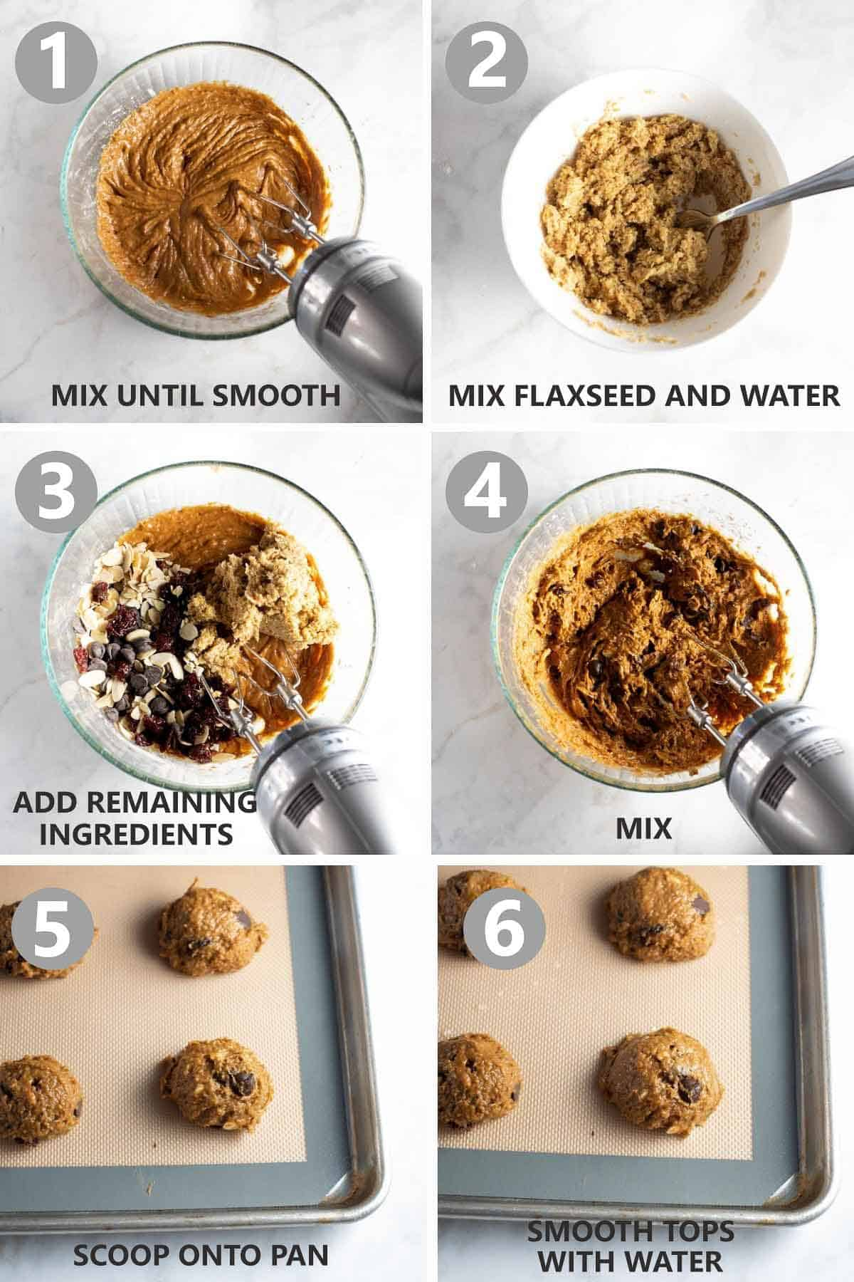 step by step photos of how to make the cookies