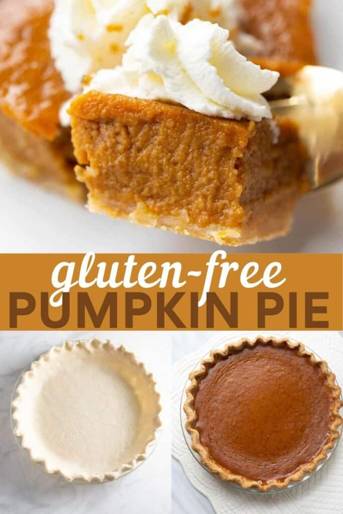 image for pinterest of pumpkin pie collage