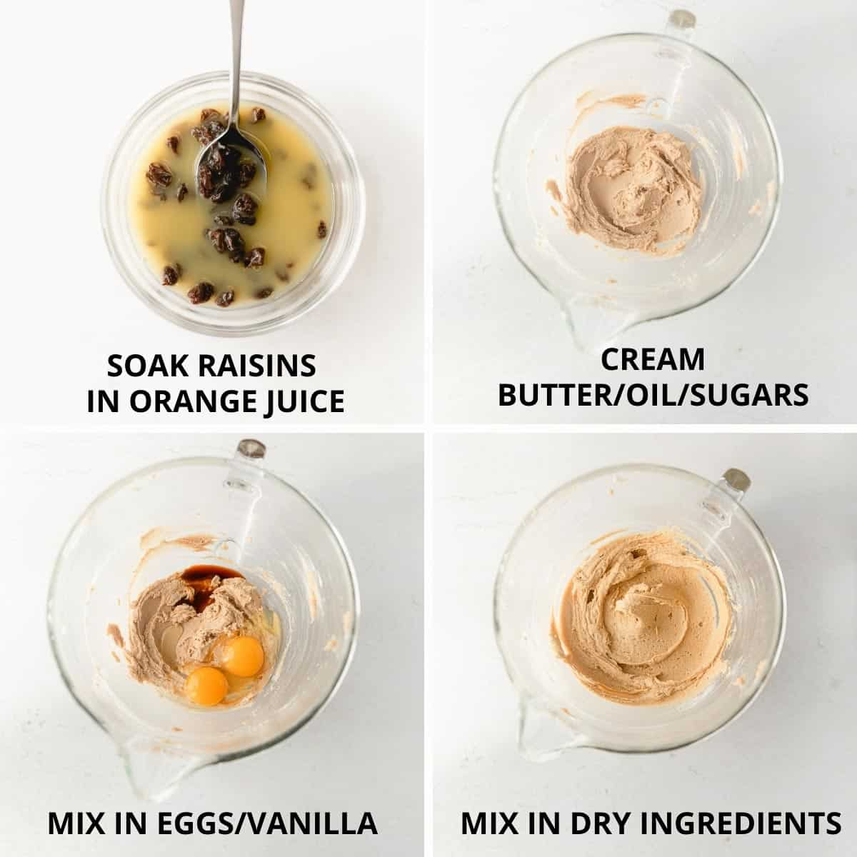 steps for how to make the cookie dough